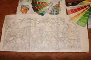 Children's Mural plan